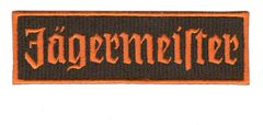Jagermeister Racing Patch 12cm