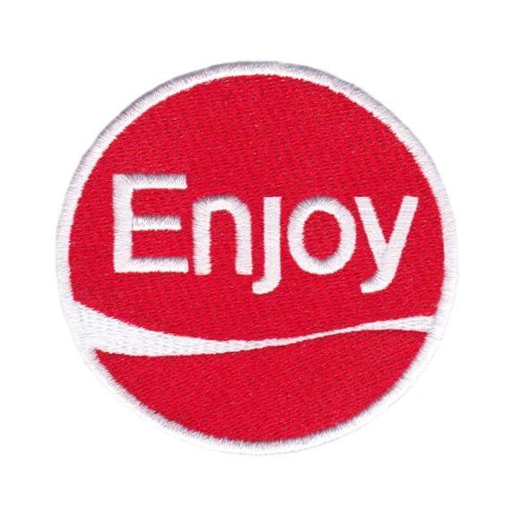 Cool Enjoy Patch Parody 8cm