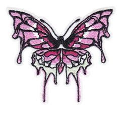 Large Beautiful Butterfly Patch 10.5cm