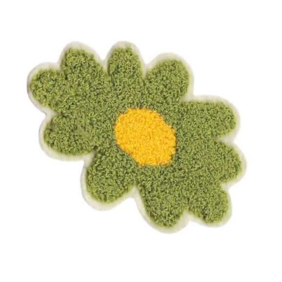 Cute Chenille Flower Patch 10.5cm