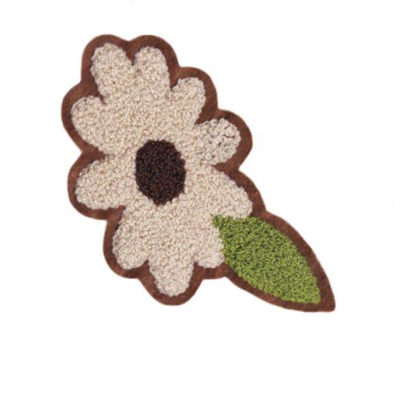 Cute Chenille Flower Patch 15cm