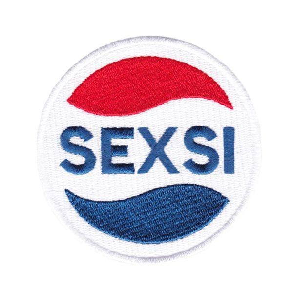 Cool SEXSI Patch Parody 8cm