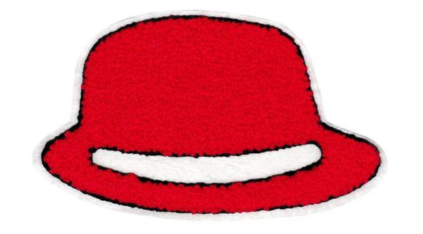 Large Chenille Fedora Hat Patch (21cm x 13cm)