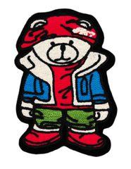Chenille Teddy Bear Patch XL 16cm