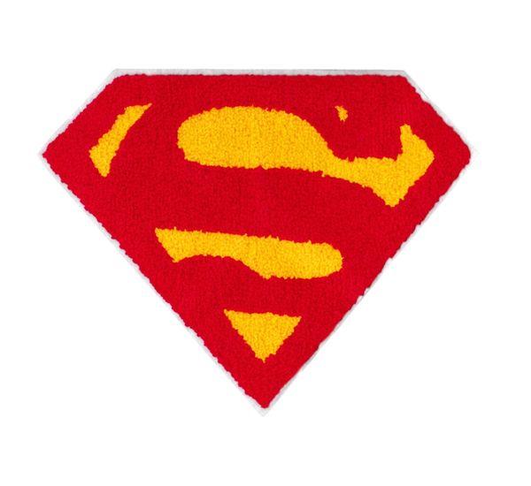 Chenille Superman Patch XXL 27cm