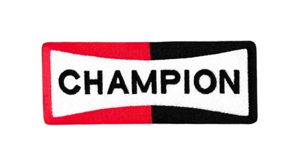 Champion Spark Plugs Patch 11.5cm