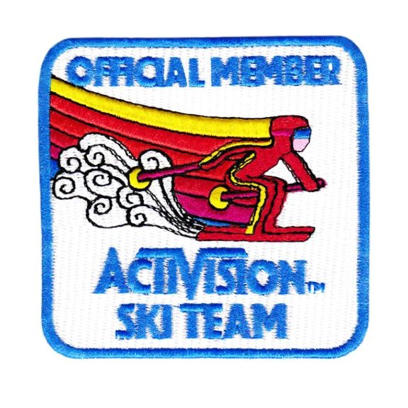 Cool Vintage Style Ski Patch Skiing 8cm