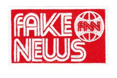 Fake News Patch 10cm FNN