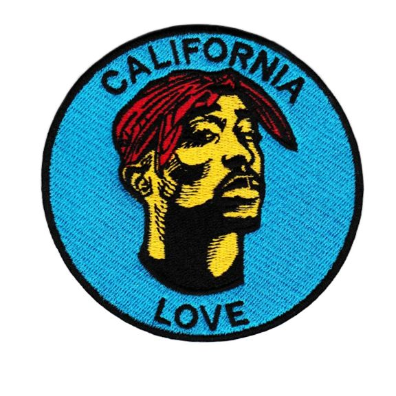 Tupac California Love Patch 9cm