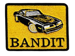 """Vintage Style """"Bandit"""" Trans Am Patch 8.5cm"""
