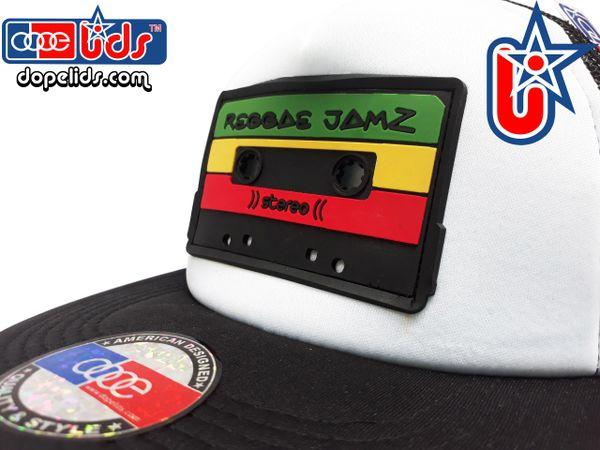 smARTpatches Truckers Reggae Jamz Mixtape Trucker Hat