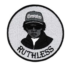 Eazy E Ruthless Patch 9cm