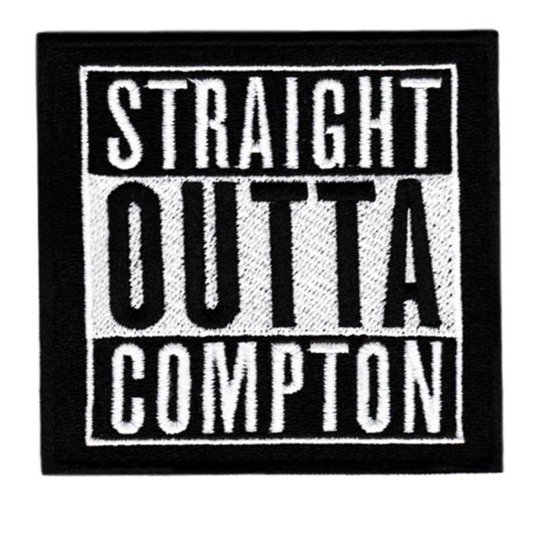 "Cool ""Straight Outta Compton"" Patch 8.5cm"