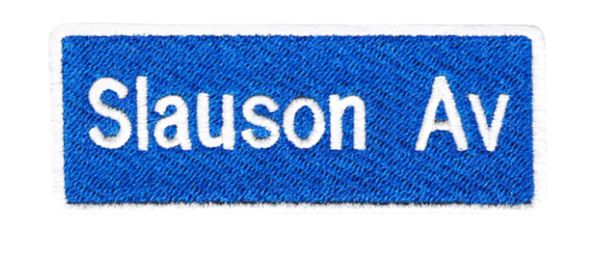 Cool Hip Hop Slauson Av Patch 9cm