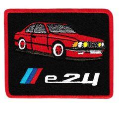 Vintage Style M6 e24 Patch Badge 8.5cm