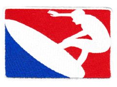 Cool Major League Surfing Surfer Patch 10cm