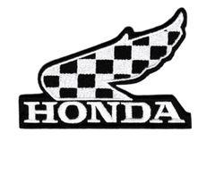 "Vintage Style Honda ""Winner"" Patch 10cm"