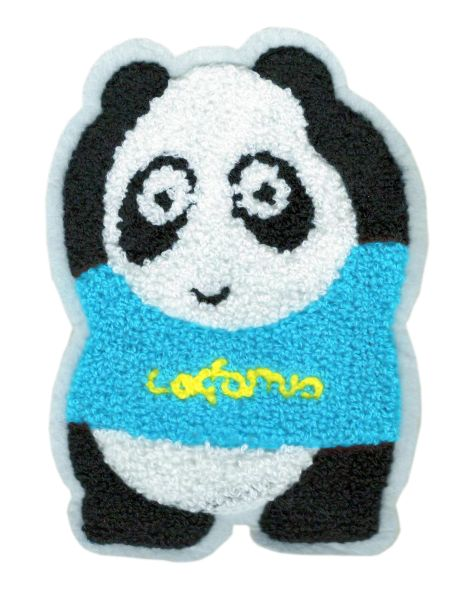 Cute Panda Patch XL Extra Large 16cm Applique
