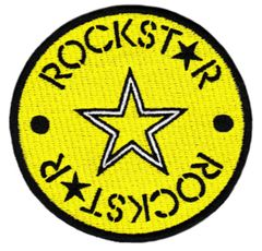 Cool Rock Star Morale Patch 8cm Applique