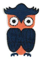 Adorable & Cute Chenille Owl Patch XXL Extra Large 20cm Applique