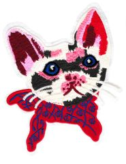 Beautiful Kitty Cat Patch XXL Extra Large 22cm Applique