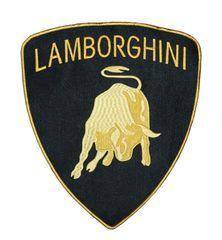 Lamborghini XXL Patch 30cm x 26.5 cm (3 Sizes Available)