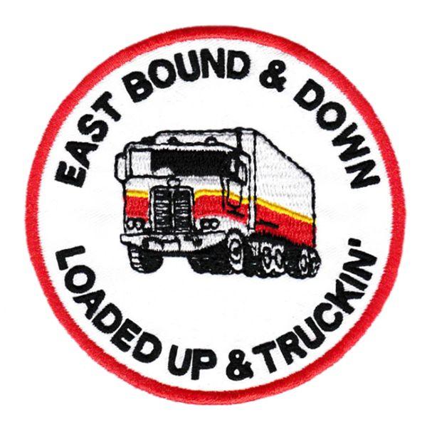 Vintage Style 70's 80's Keep on Truckin Trucker Patch 8cm Applique