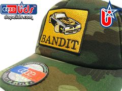 smartpatches Truckers Bandit Trucker Hat Curved Bill (Camo)