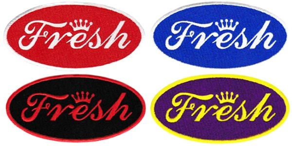 "Cool ""Fresh"" Patch Dope DJ Hip Hop Club 10cm"