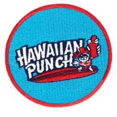Vintage Style 70's 80's Hawaii Surf Surfing Hawaiian Punch Patch 8cm