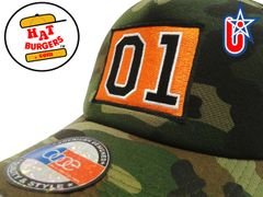 smARTpatches Truckers 01 Dukes Trucker Hat Curved Bill (Camo)