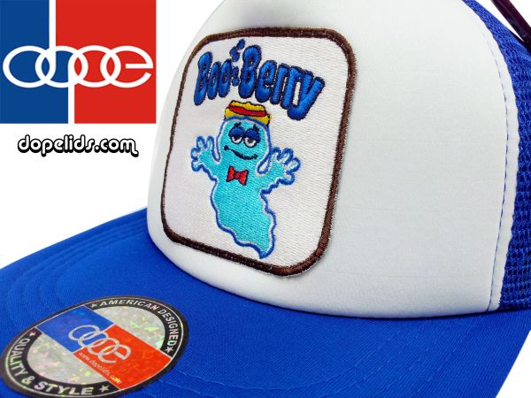 smartpatches BooBerry Cereal Vintage Style Trucker Hat