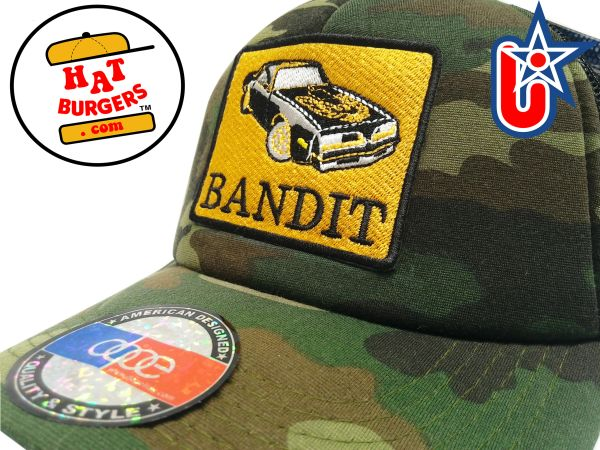 "smARTpatches Truckers ""Bandit"" T/A Trans Am Vintage Custom Trucker Hat"