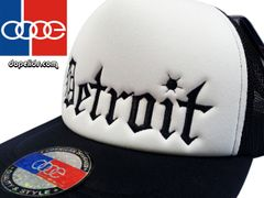 smartpatches Detroit Vintage Style Trucker Hat