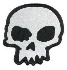 Cool Skull Patch XXL 20cm