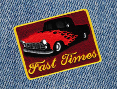 Fast Times Vintage Pickup Patch 8.5cm
