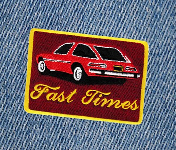 Fast Times Vintage AMC Pacer Car Patch 8.5cm