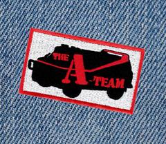 Vintage Style A-Team Patch 8cm Applique