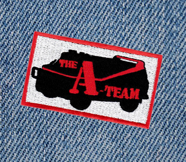 Vintage Style A-Team Patch 8cm Applique