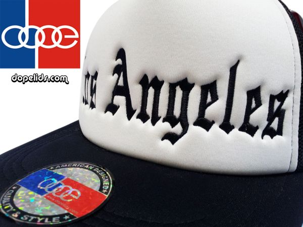 smartpatches Los Angeles Vintage Style Trucker Hat