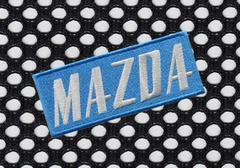 Mazda Vintage Style Patch 11.5cm