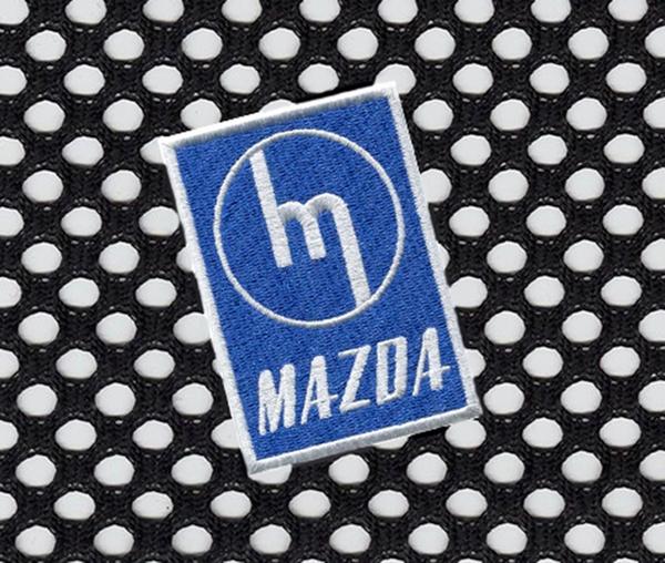 Mazda Vintage Style Patch 8cm