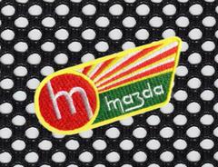 Mazda Vintage Style Patch 9cm