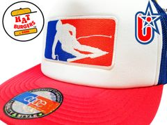 smartpatches Major League Skiing Ski Silhouette Trucker Hat
