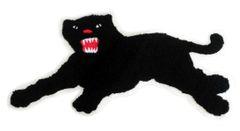 Cool Chenille Black Panther Patch Large XXL 35cm Applique