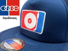 smartpatches DJ Turntable Silhouette Flat Bill Trucker Hat