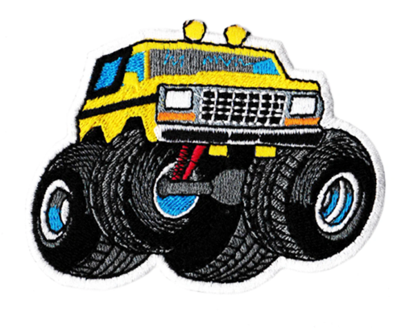 Keep on Truckin' Patch 4 x 4 Vintage Style 70's Truck Patch 10cm