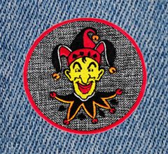 Cool Joker Patch 7.5cm Applique