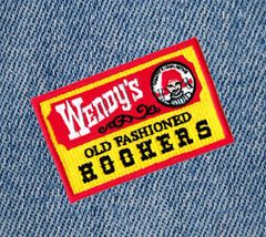 Old Fashioned Hookers Patch 9cm Applique