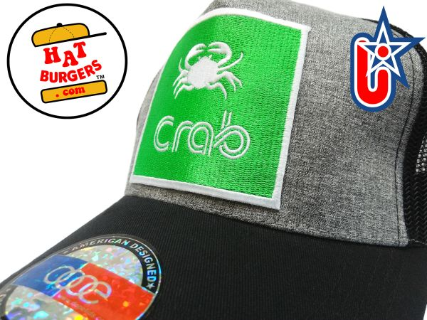 smARTpatches Truckers Crab Trucker Hat